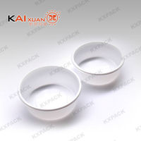 Hot Sale Kaixuan Round Shape Milk White Mooncake Tray