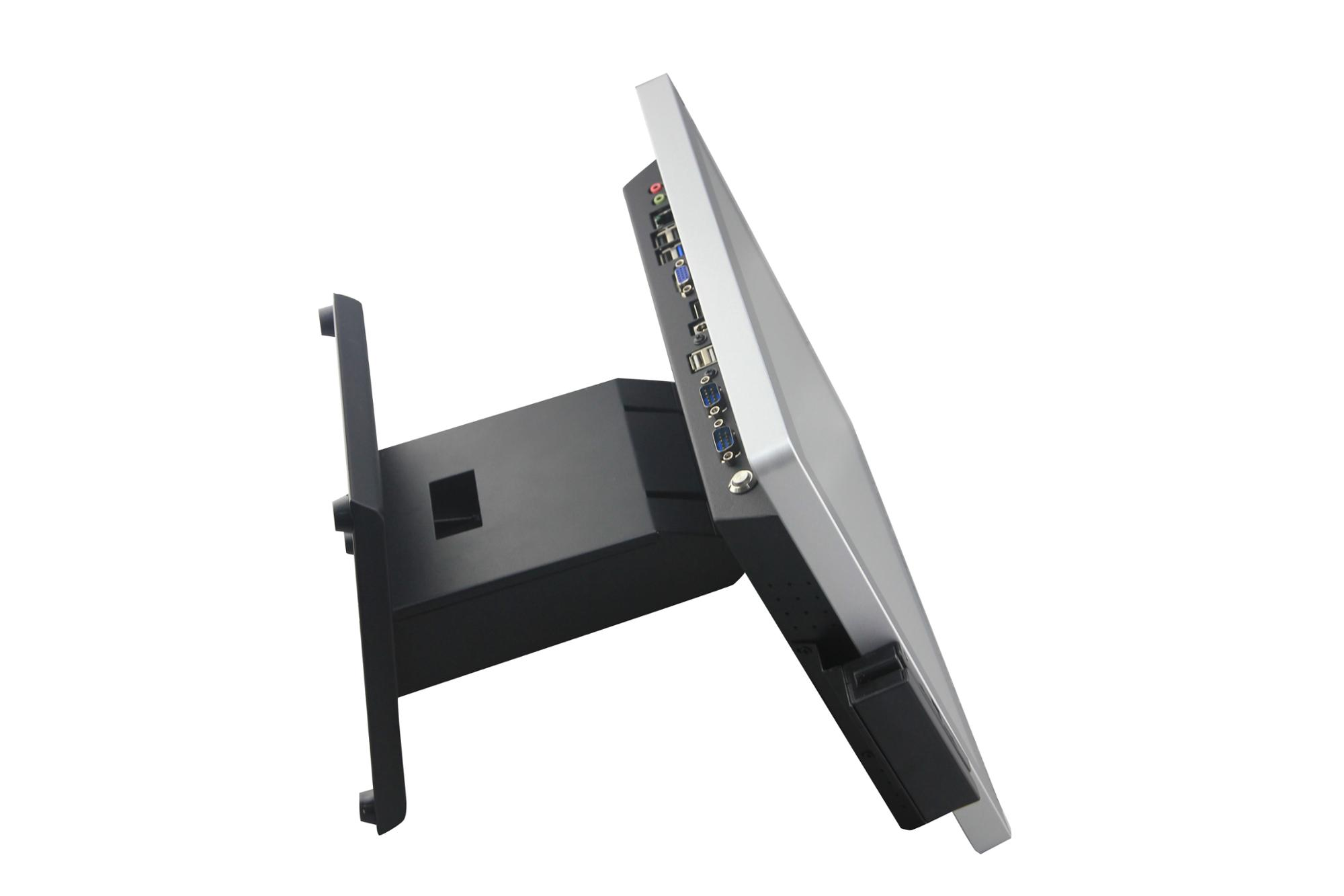 MSR machine 5wire resistive touch screen Pos System Touch screen with VFD 2nd Display+MSR