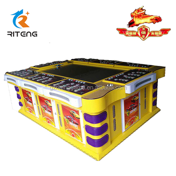 Gambling arcade game shooting fish game machine fishing hunter games for adults