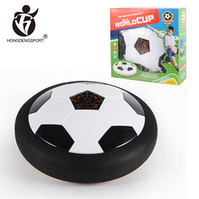 High quality indoor hover toy led soccer football air hover ball for glider