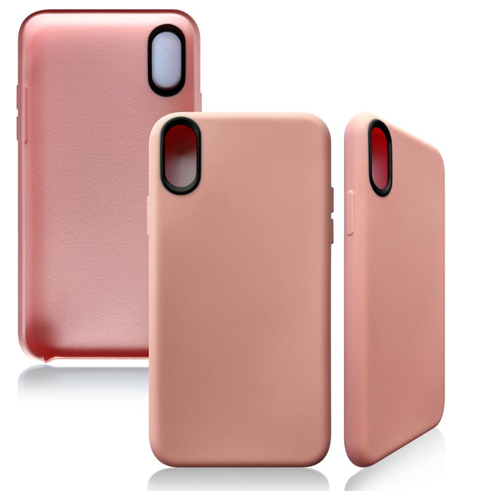 Luxury Ultra Thin Slim Silicone TPU Soft shockproof Case Cover for iPhone X