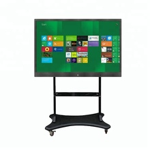 75 inch interactive LED touch display/touch screen monitor/interactive flat panel for classroom