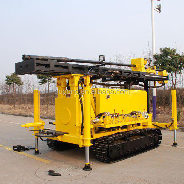KW10 120m depth Hydraulic used deep water well drilling equipment