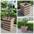 WPC outdoor eco-friendly High flower pot