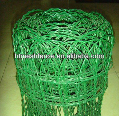 Round Top Border Crimped Wire Garden Fence