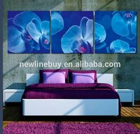 Modern art on canvas wall art pictures three jellyfish Oceanic feel so beautiful decorative wall painting for home printing