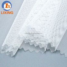 100% polyester mesh fabric with embroidery for garment