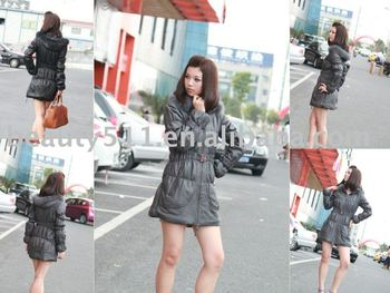 Lady's Fashion Fur Garment/ Fur Coat CAC800