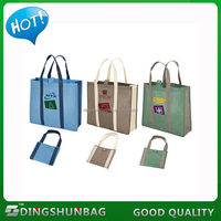 Cheap exported symbolic beauty foldable non woven bag