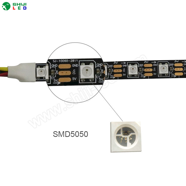 Madrix magic flexible <strong>led</strong> digital strip Artnet control ws2812b sk6812 pixel strip