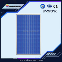 The lowest price solar panel 270w high efficiency poly crystalline solar cell