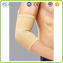 High quality top grade manufacture Gray nylon magnetic elbow brace