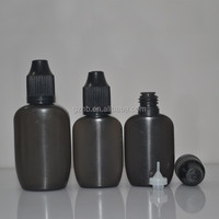 Flat 10ml plastic squeeze dropper bottles clear plastic flat dropper bottle for E-juice pe soft dropper bottle