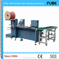 Professional DCW-360 Double wire binding machine for books