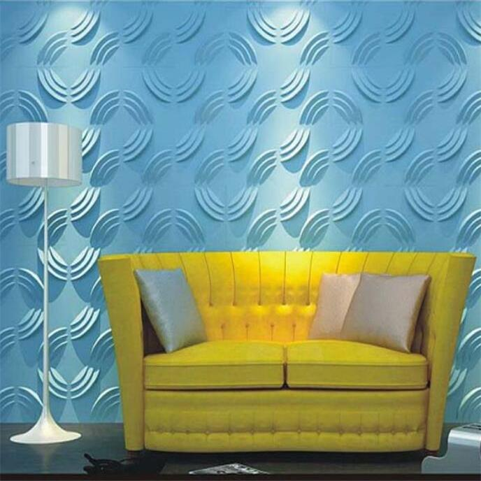 Modern style pvc 3d panel home decor wall panel for sale Home decor for sale