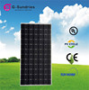 Customers first mono 180w water cooled solar panels