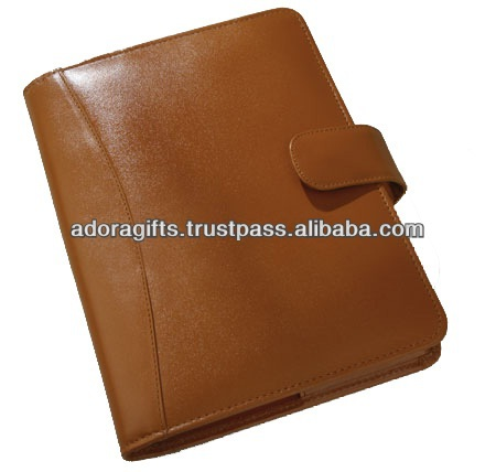 Custom Branded Leather Cover Diary Notebook Stationery