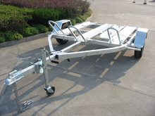 Motorcycle Trailer CMT-39 with Loading Ramp