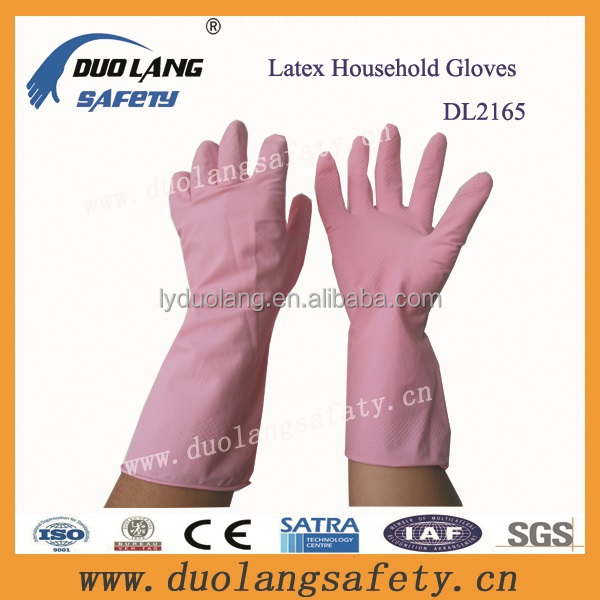 household gloves rubber long extra fish cleaning gloves