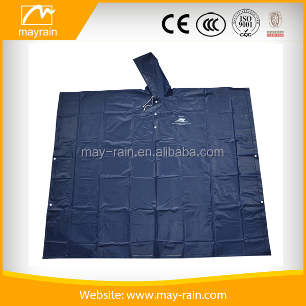 recycled plastic advanced colored drawing rain pvc ponchos