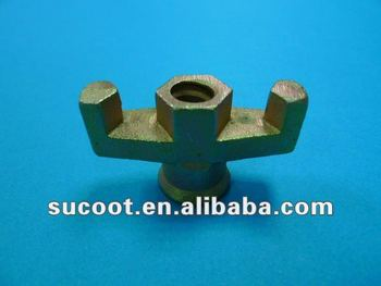 Formwork Casting iron tie rod Wing Nut