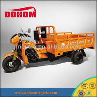 2013 high quality water cooled adult cargo motor tricycle
