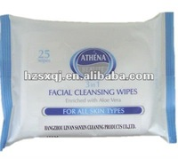 10pcs 25pcs 80pcs cosmetic wipe scented or unscented OEM welcomed