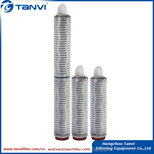 Activated carbon fiber (ACF)pleated filter cartridge for the alkaline solution