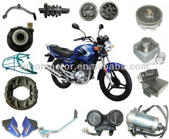 Yamaha ybr 125 decoration for Buy yamaha motorcycle parts
