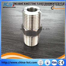Sanitary Stainless Steel full coupling with npt /bsp threaded