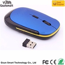 WM-02 Super Slim Ultra Thin Drivers USB 3D Optical Computer Mouse 2.4 ghz Wireless Mouse with Nano USB for business trip