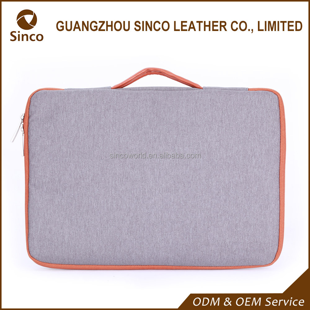 Business fashion custom high quality nylon laptop trolley sleeve bag