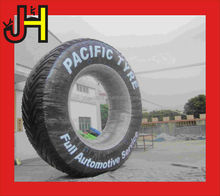 New design car wheel Inflatable product ,cheap inflatable advertising model