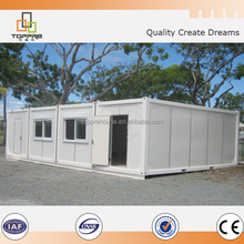 20ft 40ft sandwich panel light steel container house for sale