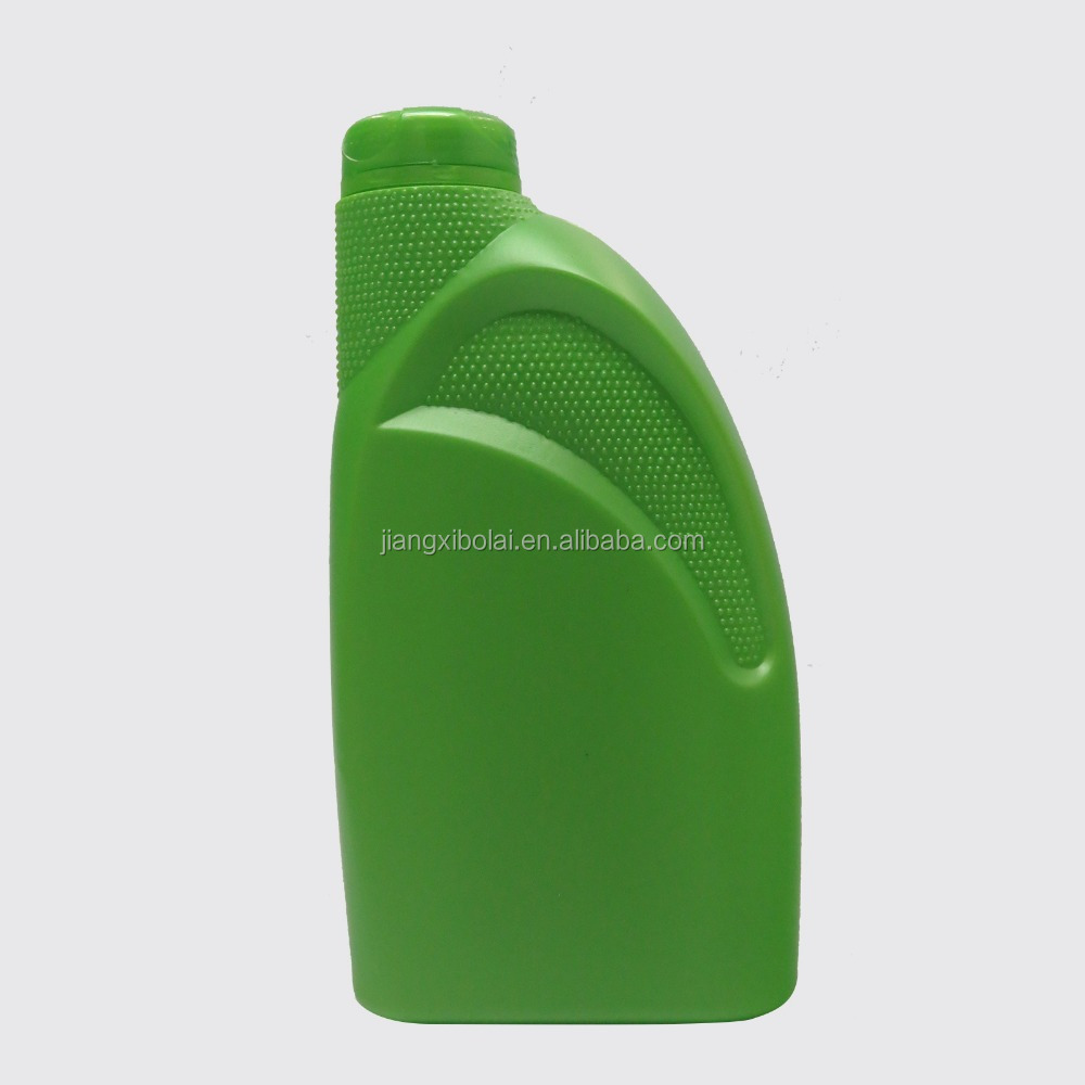 High Quality HDPE 1000ml green Bottles for Fuel Oil Additives