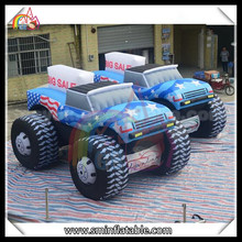 promotion sale inflatable jeep car inflatable toy car model as advertising