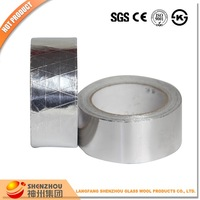 Reinforced fire retardant heat insulation material aluminium foil tape