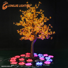 1296 led 2.5m high artificial trees led maples