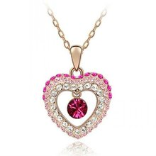 (082611) gold plating latest metal love jewelry