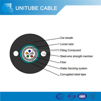 Outdoor Anti-rodent G652 Fiber Optic Cable Price Per Meter