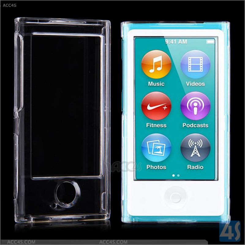 OEM supply cover cases for iPod Nano 8 ,Back Crystal Case Cover for Apple iPod Nano 7/ 8