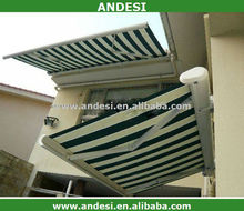 electric markise terrace roof aluminum awning