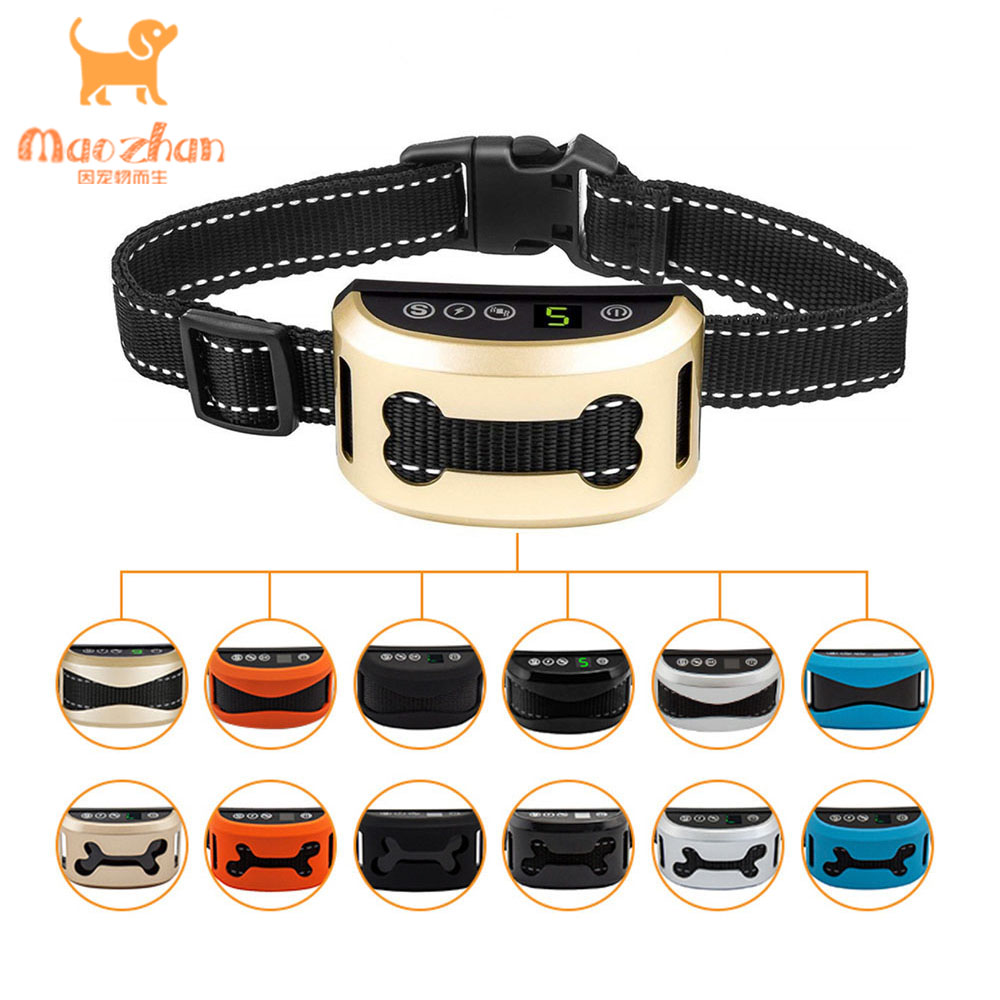 China <strong>Trading</strong> Wholesale anti bark shock vibration collar control remote