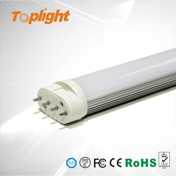 high brightness 100lm/w 2g11 led PL light, 3528 smd 12w 2g11 lamp