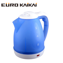 hot selling plastic electric water kettle 1.8L with water window