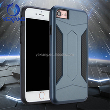 New arrival hot sale slim armor case for iphone 7 plus Anti-shock hard PC TPU case