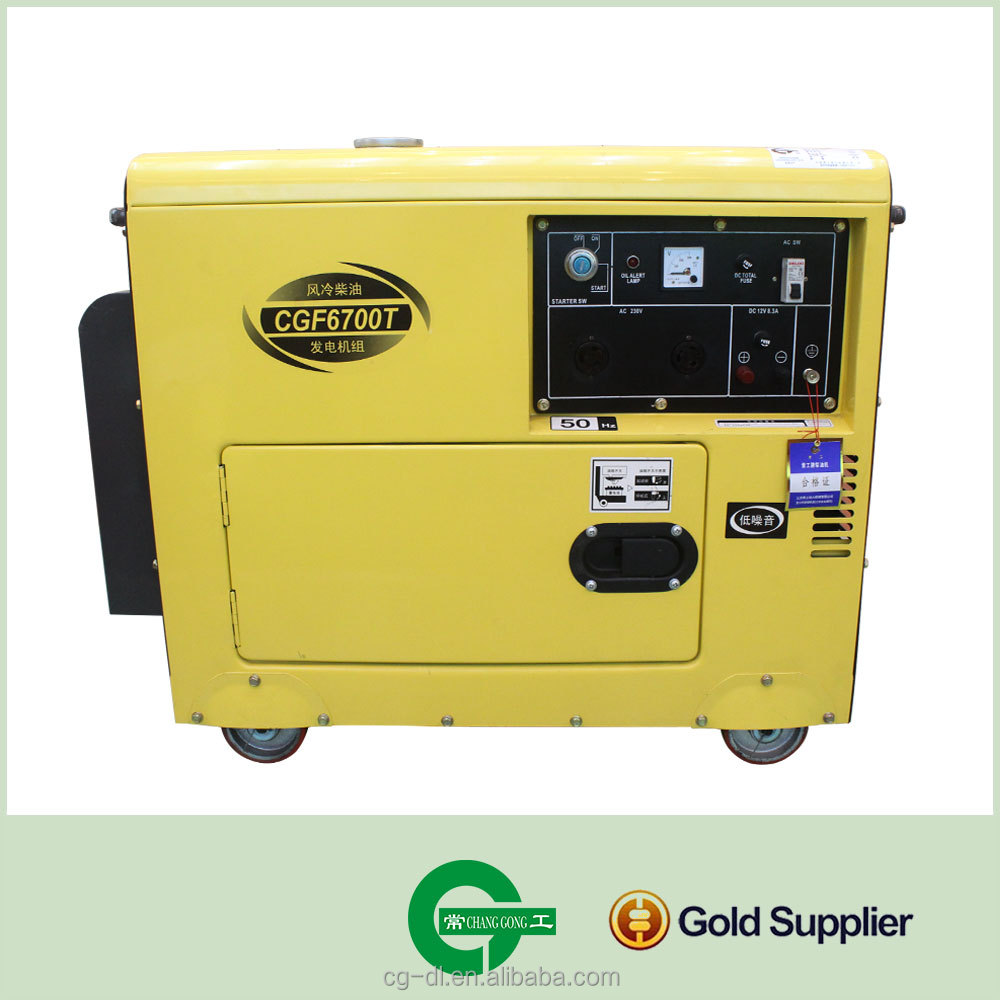 hot sale generators diesel engine AIR-cooled Diesel generator F6700T