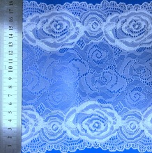 guangzhou swiss cotton voile dry floral elastic lace fabric