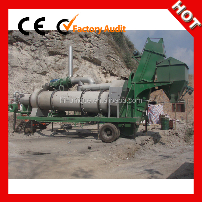 ISO CE Approved MDHB20 Mobile Asphalt Drum Mix Plant for Sale
