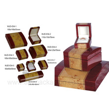 customized wooden lacquer ice box jewelry manufacturer
